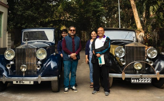 Historic Vehicles back on the Road Slowly and Carefully - Kolkata, Rolls Royces [Photo Credit - Deepanjan Sarkar]