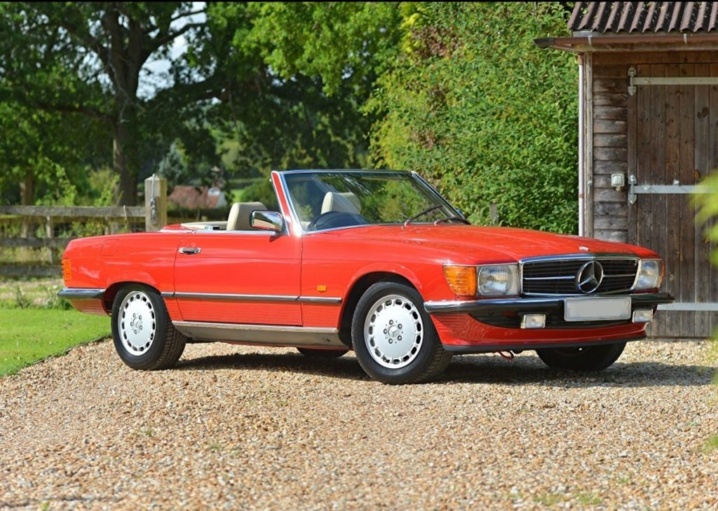 1989Mercedes300SLcreditHistoricsAuctioneers
